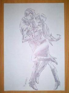 """""""berjumpa"""" sketch by tonosaur"""