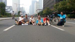 #DBloggerRUN, Jl Thamrin Jakarta