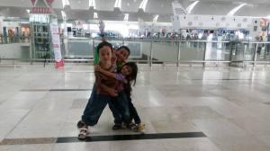 Enrico, Daneswara, Aleandra Kuala Namu Int Airport