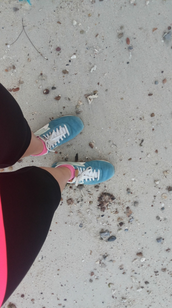 sepatu lari pertamaku
